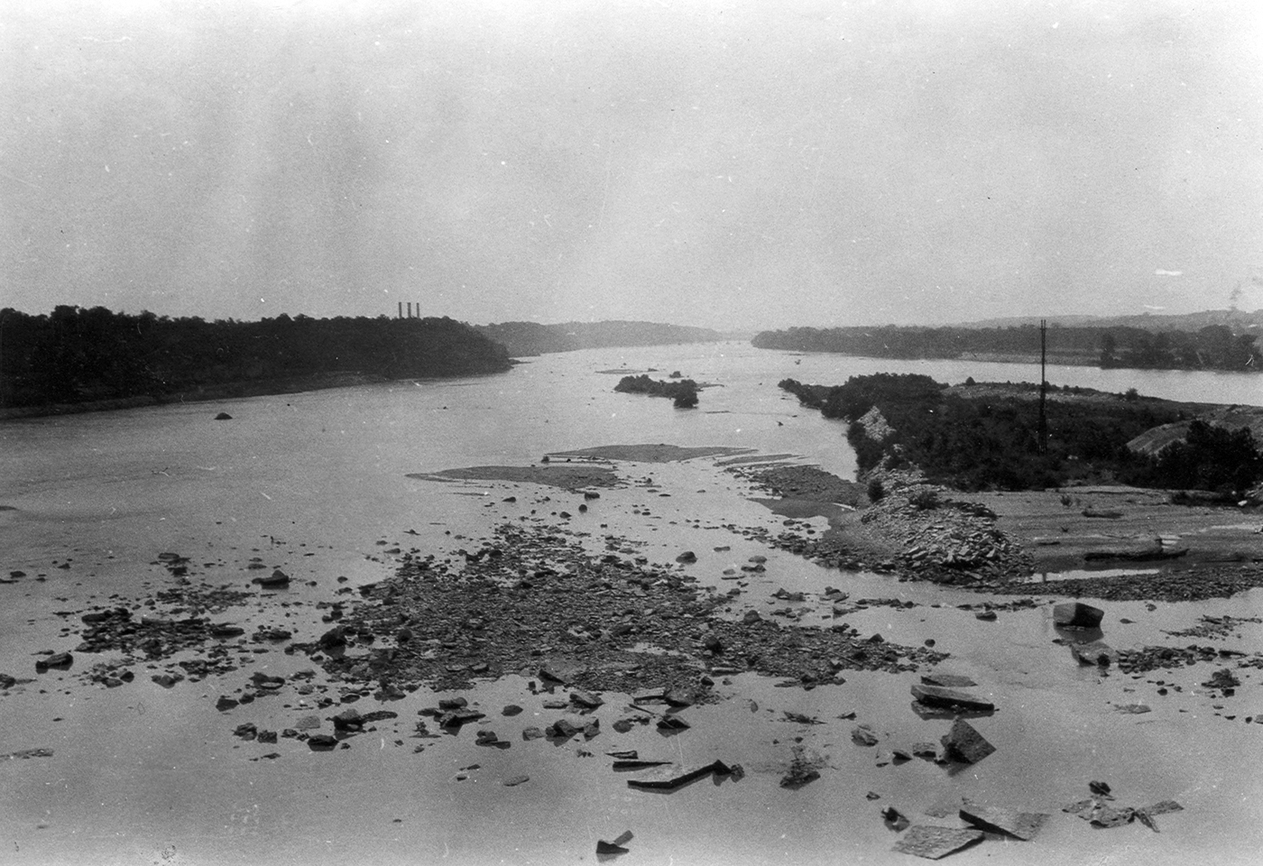 ben bama environmental news muscle shoals tennessee river 1927